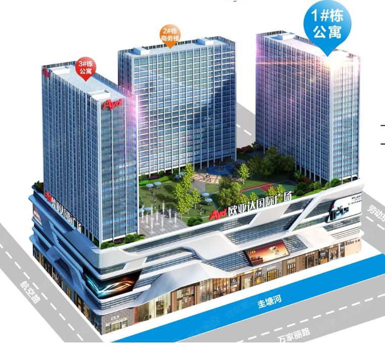 欧亚达-城市综合体无线通讯系统工程