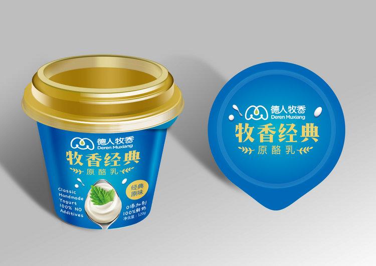 牧香经典原味酸奶