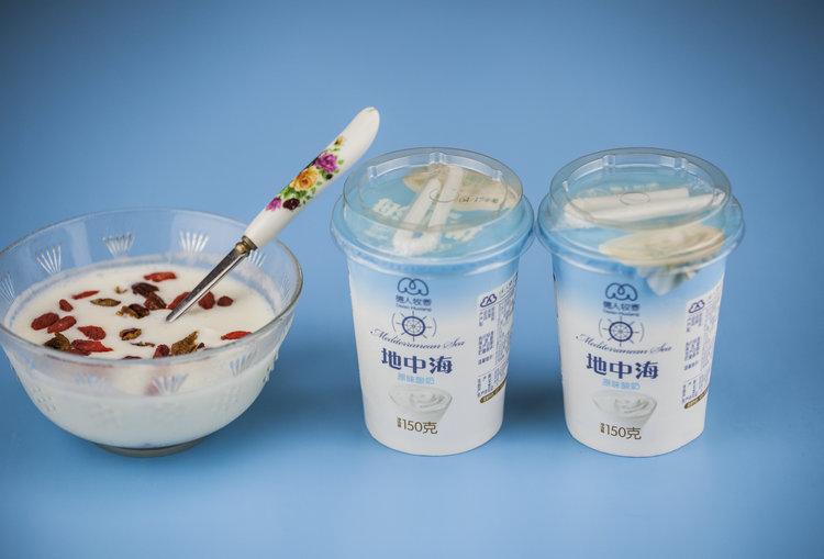 地中海酸奶(原味、海盐焦糖味)