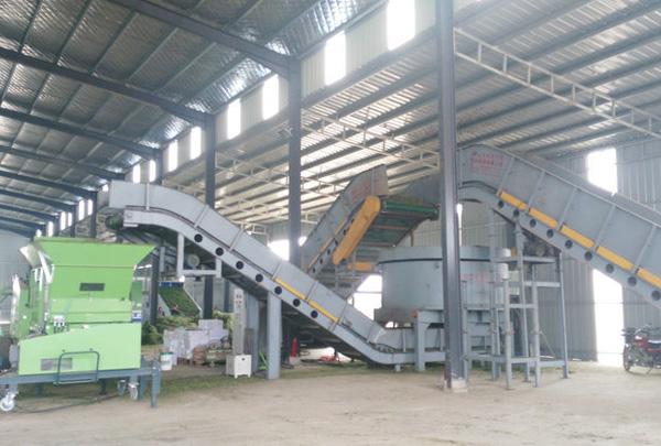 金沙贵宾会年产10万吨牧草加工生产线