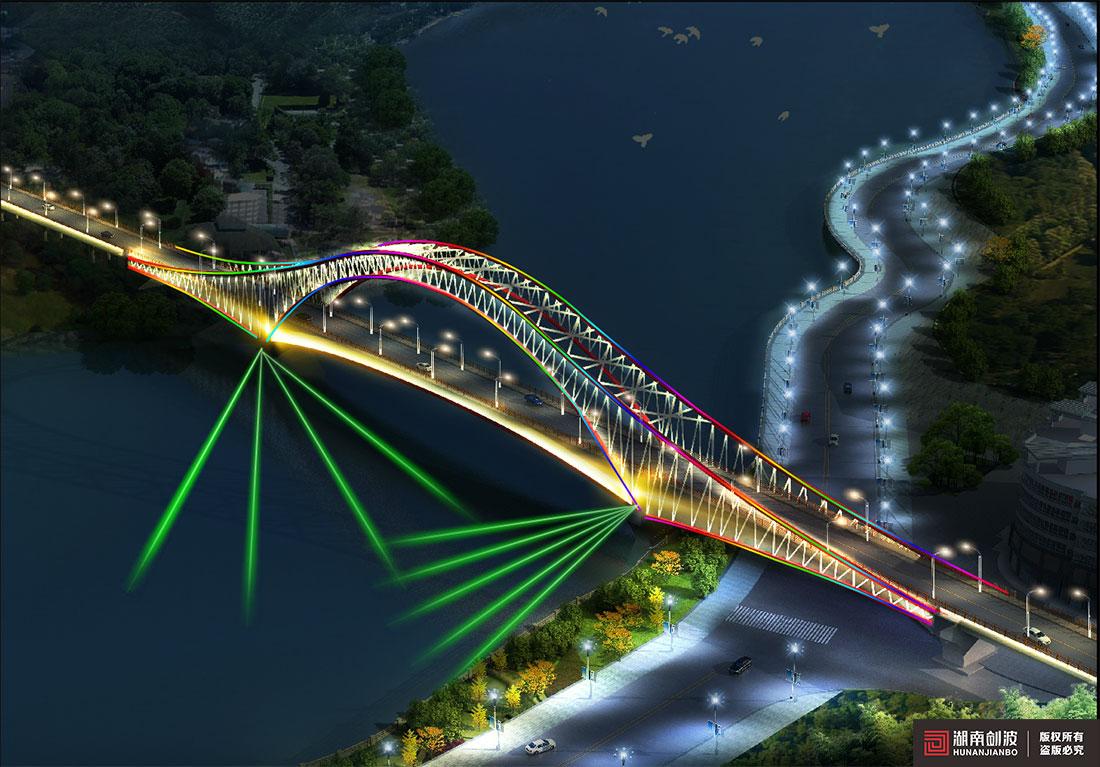 兰州金河湾大桥照明伟德国际英国1946