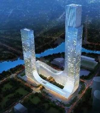 亚洲次高双子塔超高层综合体调研